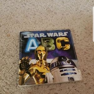 STAR WARS ABC Large Board bookPicture Photographs